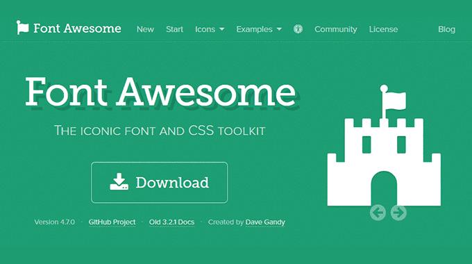 【Simplicity】Webアイコンフォント『Font Awesome』の使い方