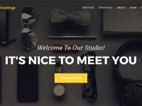 【Bootstrap】htmlテンプレート「Agency」のお問い合わせフォームのカスタマイズ!